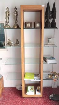 Model GV Teakwood Display Cabinet