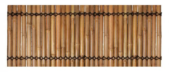 Bambuszaun (gelb), starr, 83 cm