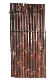 "Bambuszaun-Element ""Wulung"", Ø 6-9 cm, 180 cm"