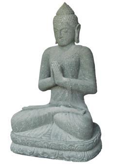 Sitzender Buddha, indisch, 200 cm H