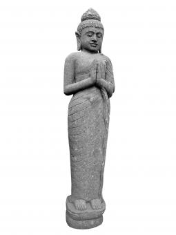 Stehender Buddha, indisch, 150 cm