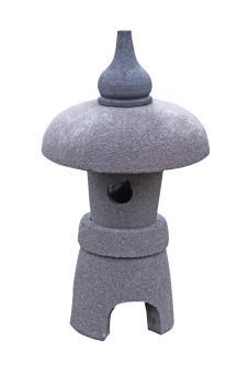 "Jap. Steinlaterne ""Osaka"", 65 cm"