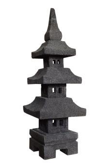 "Jap. Steinlaterne ""Pagoda Gata"", 80 cm"