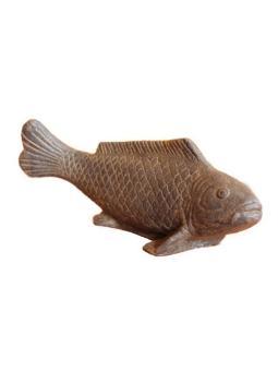 Fisch auf Sockel, 40 cm