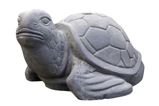 SALE – Schildkröte als Schirmständer, 35 cm