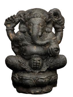 Sitzender Ganesha, 40 cm