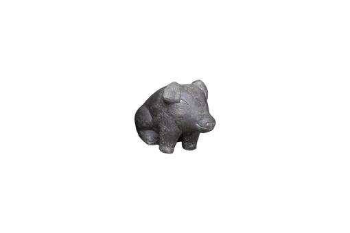 Sitzendes Schweinchen, Größe S, 20 cm