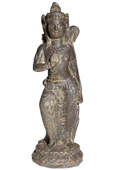 Stehende Dewi Sri – Balis Reisgöttin, 43 cm
