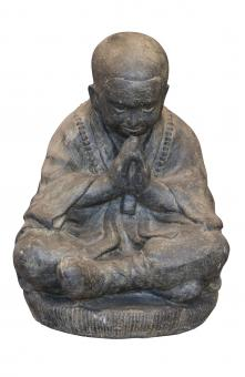 Sitzender Mönch, 47 cm H