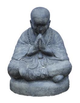 Sitzender Mönch, 80 cm