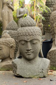 Buddha-Büste, 80 cm 80 cm hoch