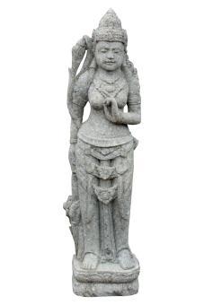 Stehende Lady (Sri Dewi) 120 cm