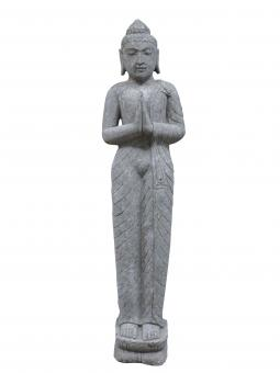 Stehender Buddha, indisch, Begrüßung, 175 cm