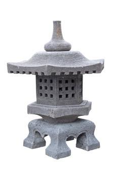 "Jap. Steinlaterne """"Yukimi"", 65 cm"