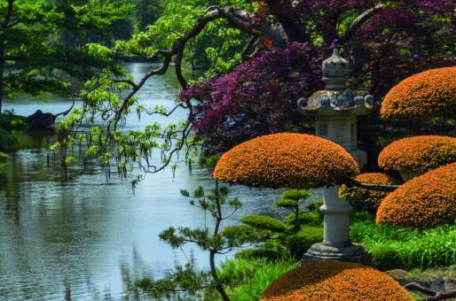 Japanische Gartenlaterne, 120 cm