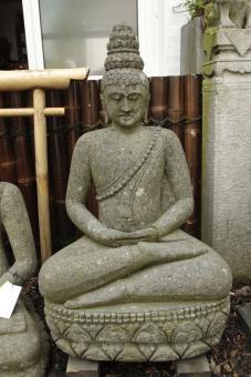 Sitzender Buddha, 105 cm, Thai-Stil