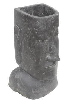 Abstrakter Kopf als Pflanzgefäß, 50 cm