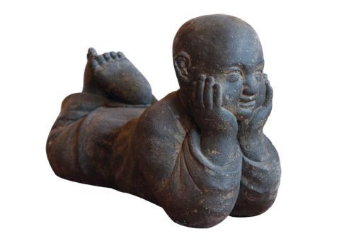 Liegender Mönch, 40 cm