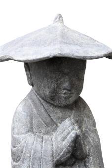 Stehender Mönch mit Hut, ca. 60 cm