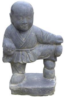 Stehender Kung-Fu-Mönch, ca. 60 cm