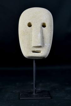 Maske, primitiv, 20 cm