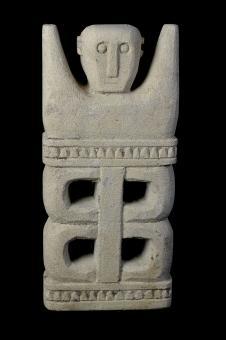 Statue, primitiv, 26 cm