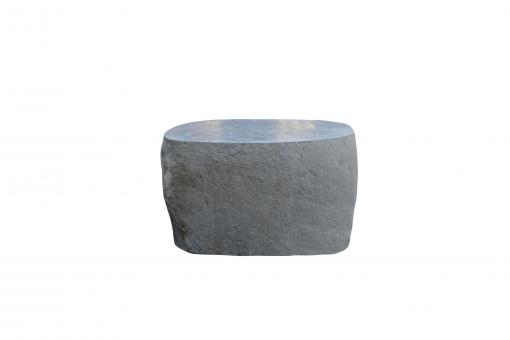 Steintisch massiv, polierte Oberfläche, 50 cm